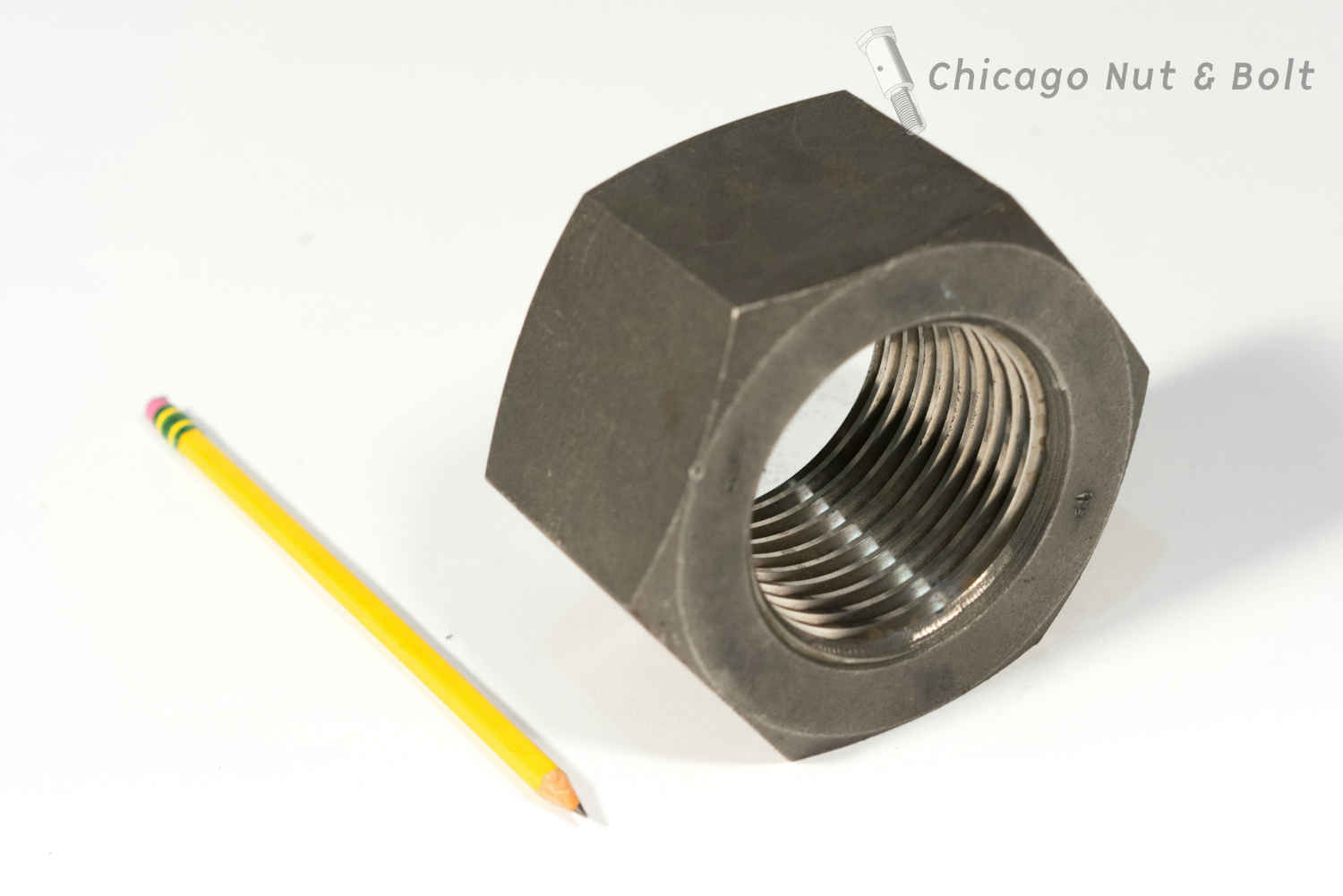 Custom extra large hex nut 2